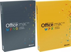 Office MAC Home Student 2011 En DVD 1PK (GZA-00136)