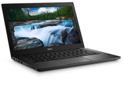 "Laptop Dell Latitude 7280 (i7-7600U-2.8G/8G/256G SSD/12.5"" HD/FP/W10P/Black) (70124696)"