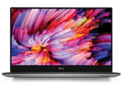 "Laptop Dell XPS 15 (i7-7700HQ-2.80G/16G/512G SSD/15.6""UHD Touch/4Vr/W10/Silver) (70123080)"