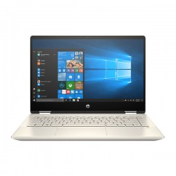 Laptop HP Pavilion x360 14-dw0063TU 19D54PA (i7-1065G7/8GB/512GB SSD/14FHD TouchScreen/VGA ON/Win10+Office Home & Student/Gold/Pen)