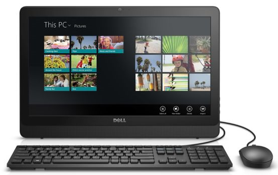 Máy tính All in One Dell Inspiron 3064T (2X0R03) Black