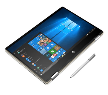 Laptop HP Pavilion x360 14-dw0062TU 19D53PA (i5-1035G1/8GB/512GB SSD/14FHD TouchScreen/VGA ON/Win10+Office Home & Student/Gold/Pen)
